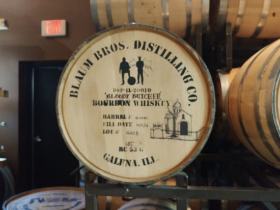 Blaum Bros Distillery in Galena, Illinois