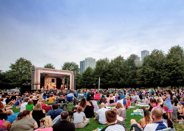 Chicago Shakespeare in the Parks, photo by Chuck Osgood