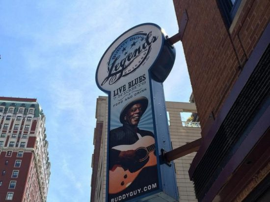 Buddy Guy returns to Chicago every January for a month of live shows at his club, Buddy Guy's Legends