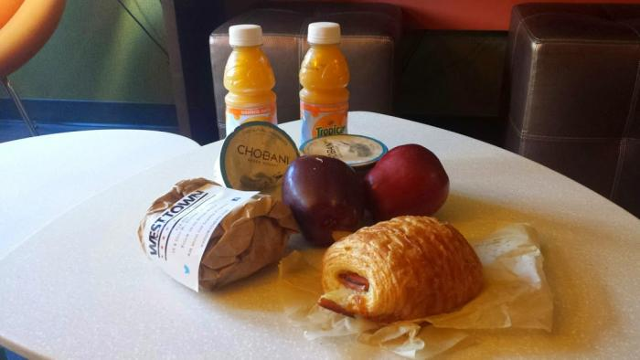 Knock and Drop Breakfast from West Town Bakery at ACME Hotel Company