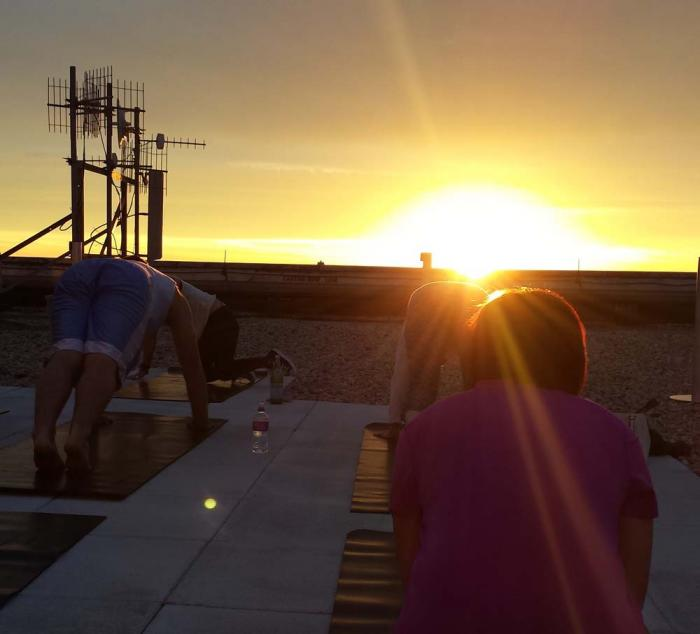 The Ritz-Carlton Chicago Sunrise Yoga