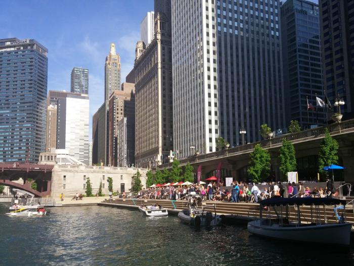 City Winery on the Chicago Riverwalk