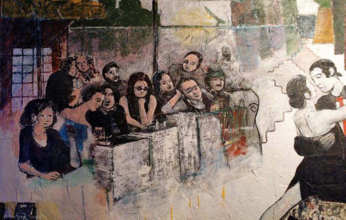 Mural at Artango