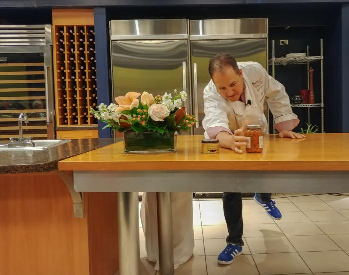 Chef Josh Capon at Macy's Culinary Council
