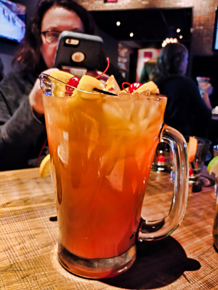 Mai Tai Pitcher at The Draft Room