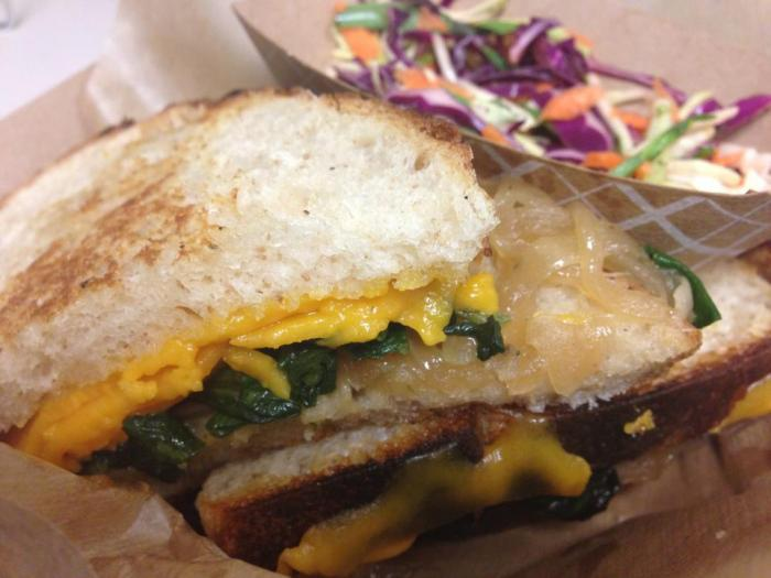 The Fat Shallot Grilled Cheese