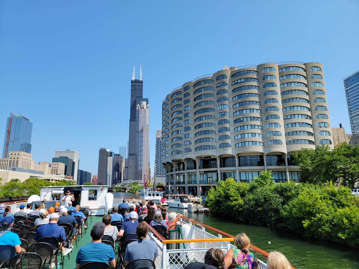 The Chicago Architecture Foundation Center River Cruise - the #1 Boat Tour in the US