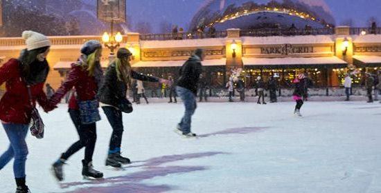 Millennium Park Ice Skating Rink