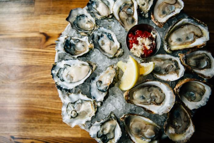Oysters at Oyster Bah