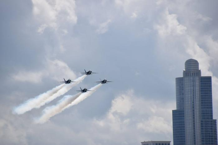 Chicago Air & Water Show, photo courtesy Odyssey Cruises