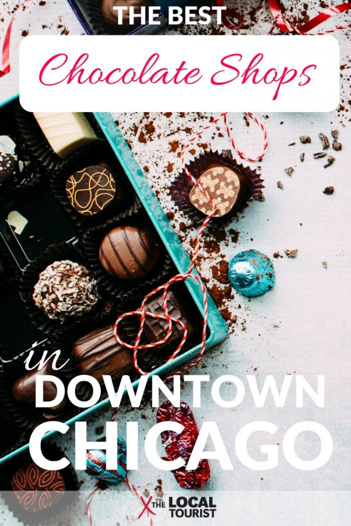 Downtown Chicago Chocolate Shops