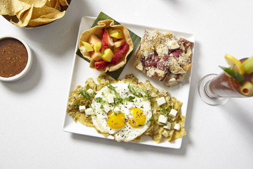 Cantina Laredo offers a modern Mexican twist on traditional brunch favorites 4