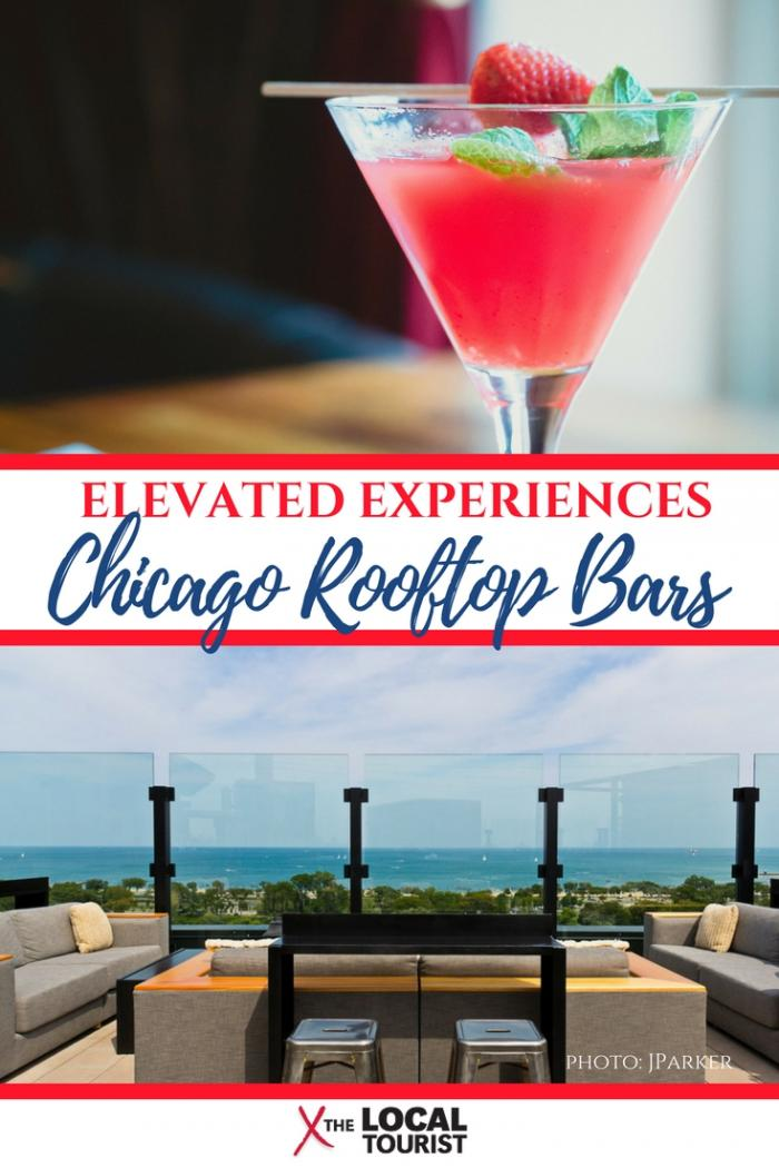 Whether you're looking for a cool scene on a hot summer day, romantic rooftop restaurants, or just want to eat and drink outside, these Chicago rooftop bars up your al fresco game (literally). #USA