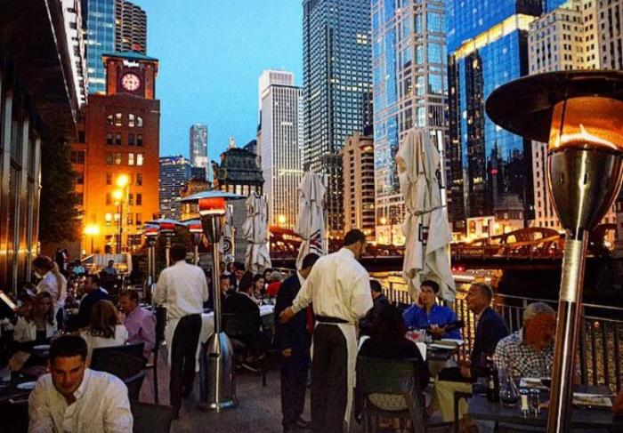 Chicago Cut Steakhouse Patio