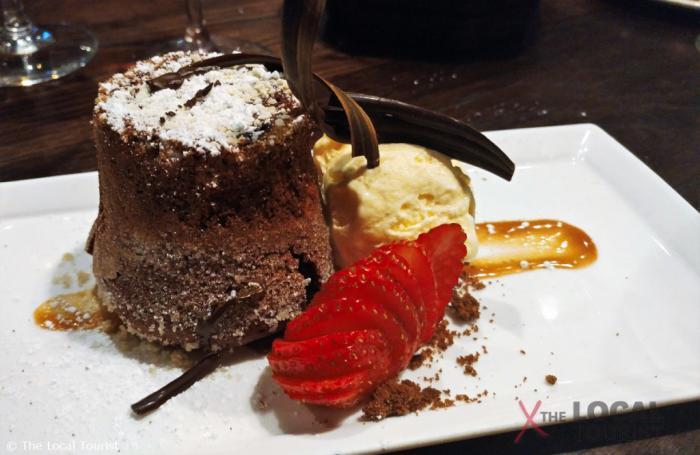 Lava Cake at Chocolate Sanctuary