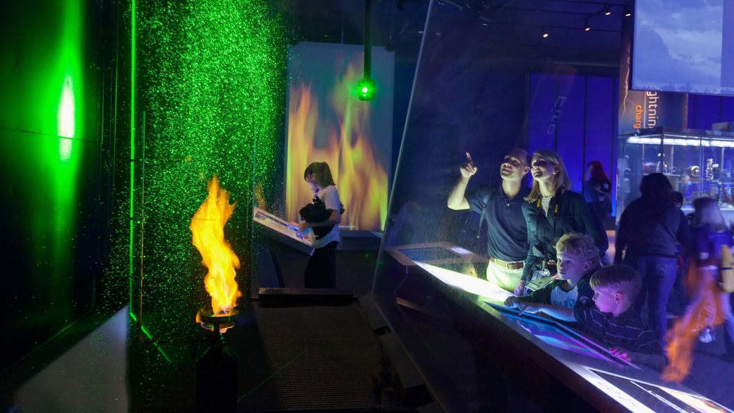 Science Storms at the Museum of Science and Industry, photo credit MSI Chicago