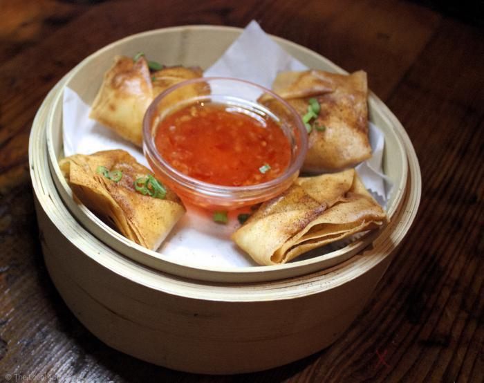 Spicy Crab Rangoon