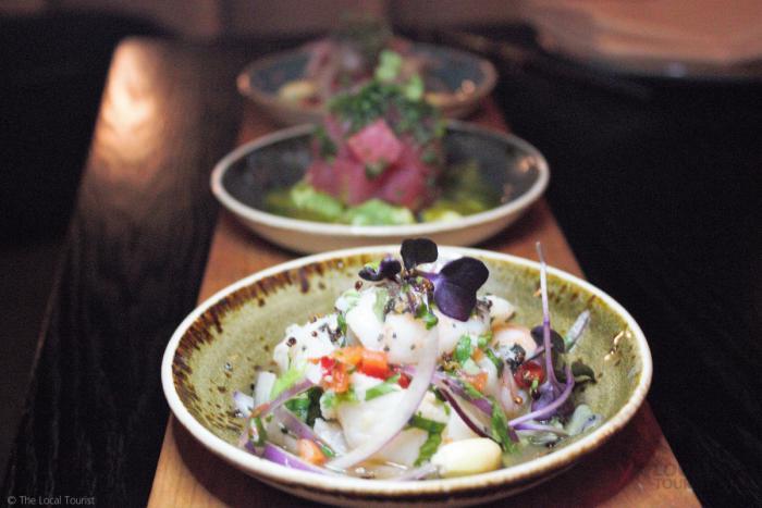 Ceviche Trio at Artango Bar & Steakhouse