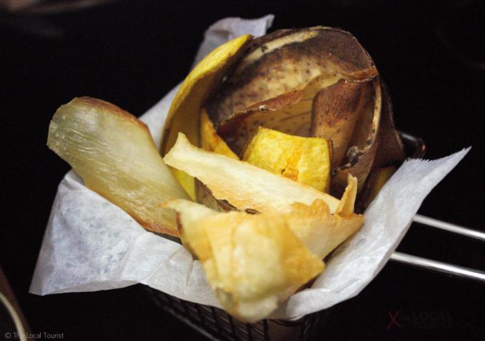 Plantain chips at Artango