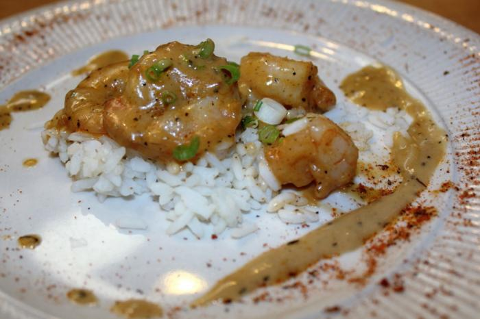 Heaven On Seven New Orleans Style BBQ Shrimp over Rice