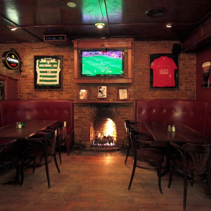 Fireplace at Galway Arms
