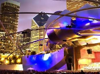 Grant Park Music Festival Schedule - free outdoor concerts in Millennium Park in downtown Chicago