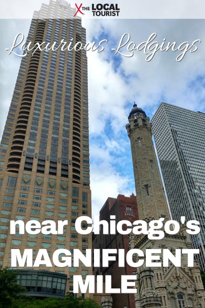 The most luxurious hotels and places to stay in Chicago are on the Magnificent Mile.