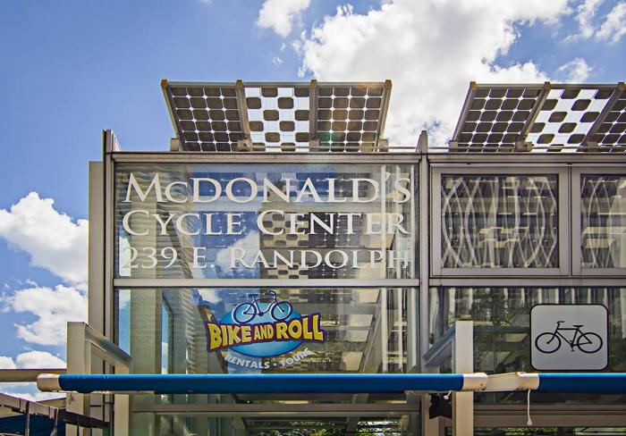 McDonald's Cycle Center at Millennium Park