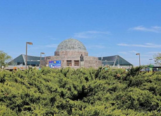 Adler Planetarium, one of the top tourist attractions in chicago