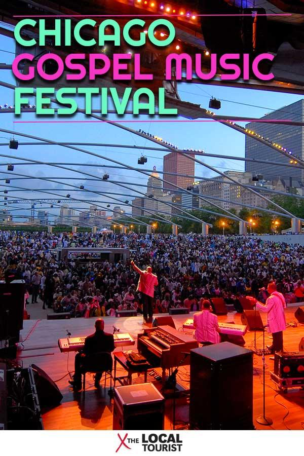 The Chicago Gospel Music Festival celebrates this genre every summer in Millennium Park and at the Chicago Cultural Center.