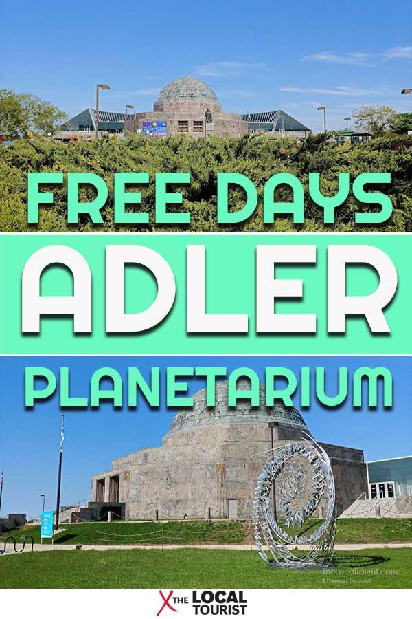 The Adler Planetarium is one of Chicago's top attractions. Check out when Illinois residents can visit without paying admission. #freedays #adlerplanetarium #Chicago #USA #Midwest