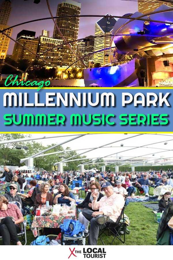 The Millennium Park Summer Music Series is one of the reasons Chicago is the place to be in the summer. Sitting on the Great Lawn listening to live music pouring forth from Jay Pritzker Pavilion is a truly delightful way to spend an evening - or ten.