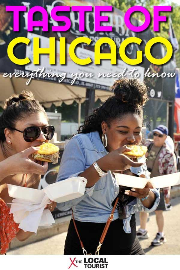 Taste of Chicago - Pin it!