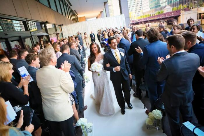 Wedding at Rivers Chicago