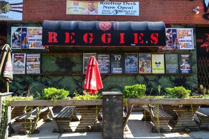 Reggie's Rock Club, photo by Eric Allic Rogers