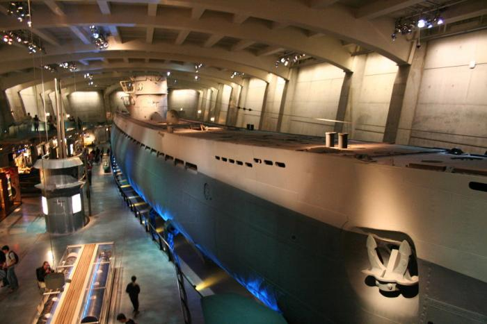 U-505 German Submarine at the Museum of Science & Industry