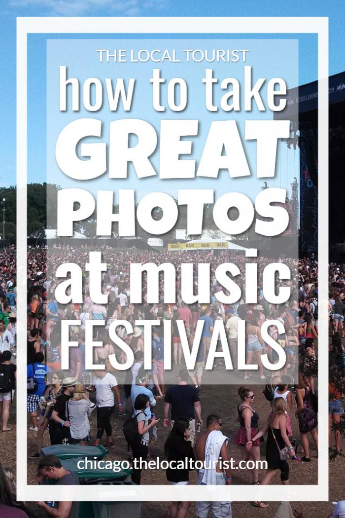 How to Take Great Music Festival Photos - check out these tips from a professional photographer on how to take amazing photos at music festivals