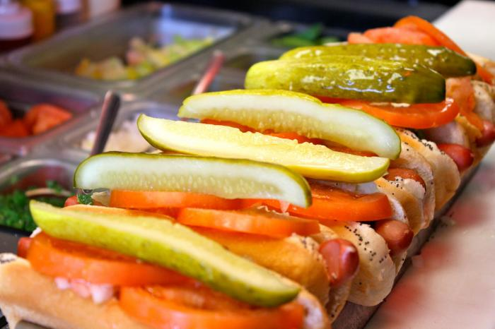 Poochie's Chicago-style Hot Dogs