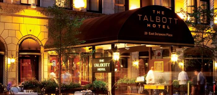 The Talbott Hotel is a boutique hotel near the Magnificent Mile and the Gold Coast in Chicago