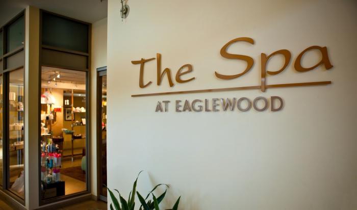 The Spa at Eaglewood Resort Entrance - photo credit Eaglewood Resort