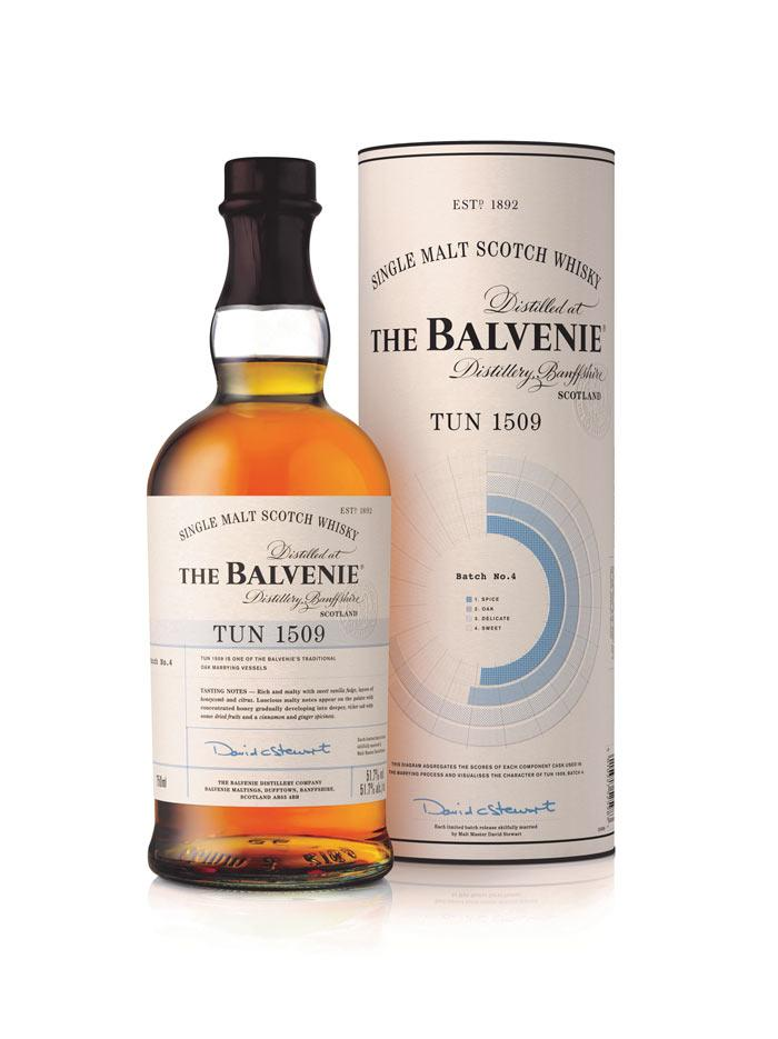 Balvenie Chicago Wingo Tun 1509 Batch 4