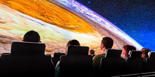 Adler Planetarium theater