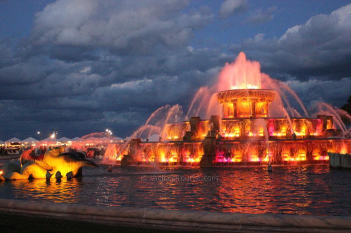 Buckingham Fountain in Grant Park