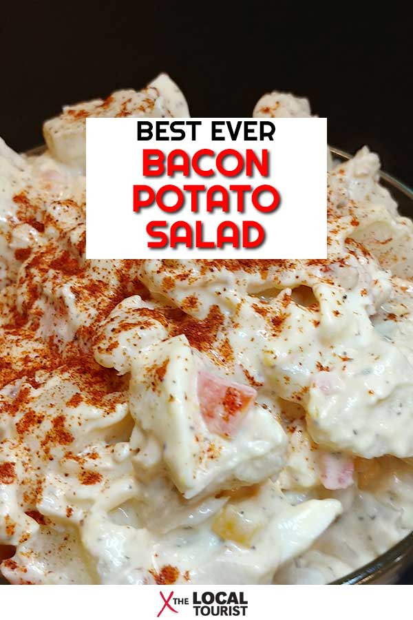 Get the recipe for this side dish staple, bacon potato salad