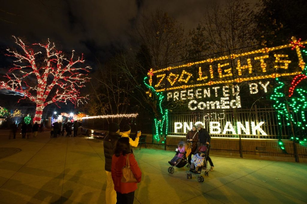 Lincoln Park Zoo Zoolights Chicago