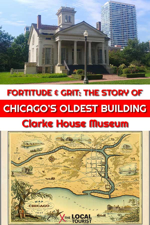 The Clarke House Museum tells the story of the oldest home in Chicago, a remarkable tale of fortitude and grit - and tours are free! - Things to do in Chicago - Chicago history - Chicago's oldest building - free things to do in Chicago