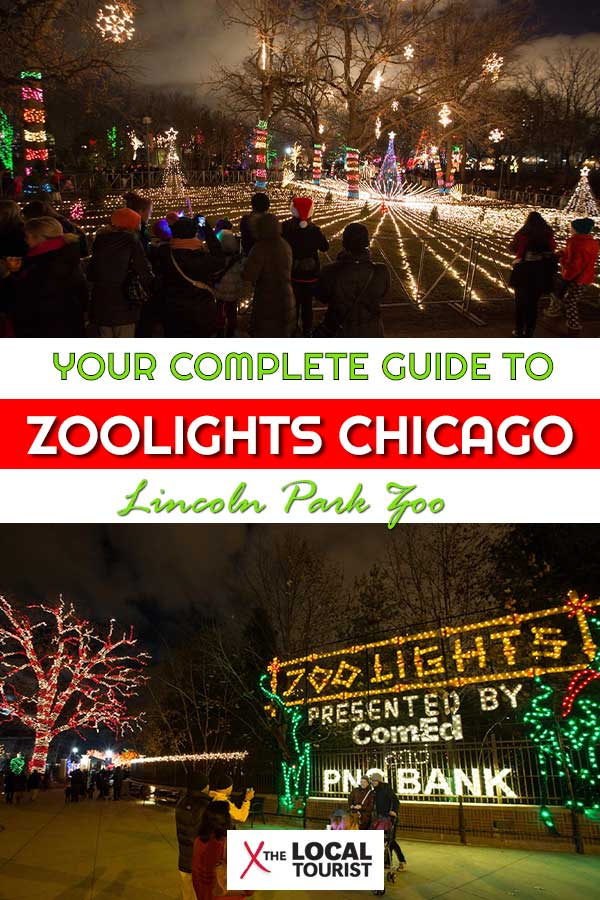 Lincoln Park Zoo Zoolights is one of Chicago's most cherished holiday traditions. Bring the whole family to this fun free event. #USA #Christmas #Chicago #Holidays