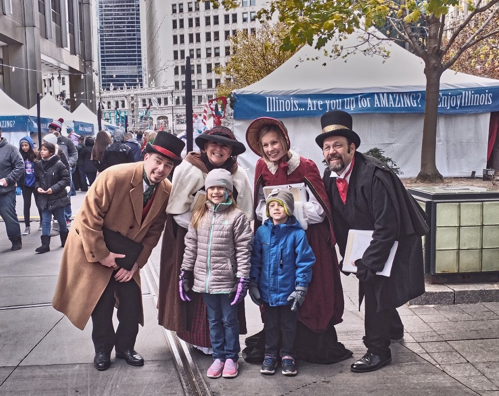 The Caroling Connection at the 2016 Magnificent Mile Lights Festival