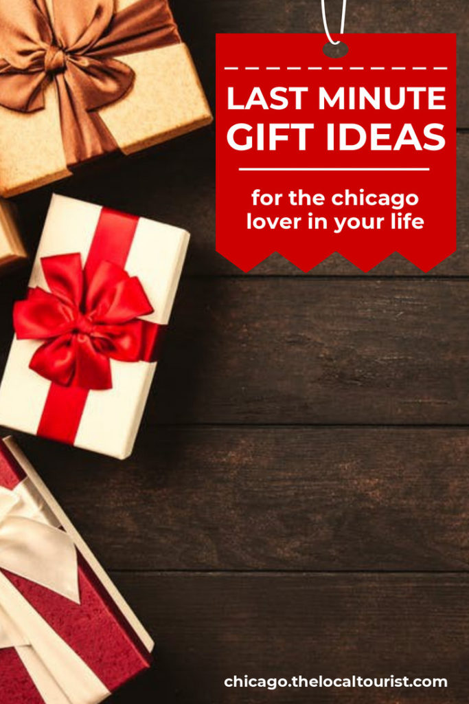 Looking for gifts for someone who loves Chicago? If you still have holiday shopping to do, don't panic; we're here to help. We've hand-picked some gift suggestions that will help you finish all of your shopping with time to spare.