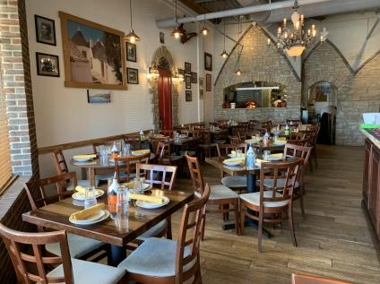 Inside Osteria Trulli
